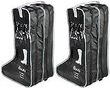 LINPOZONE Portatil 2 paquetes de 47 cm, botas altas botas cortas soporte de...