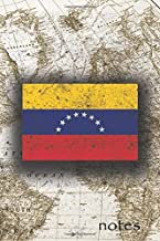 Notes: Beautiful Flag Of Venezuela Lined Journal Or Notebook, Great Gift For People Who Love To Travel, Perfect For Work Or School Notes