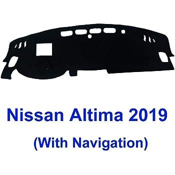 JIAKANUO Auto Car Dashboard Carpet Dash Board Cover Mat Fit Nissan Altima 2019 MR-077 black19 .