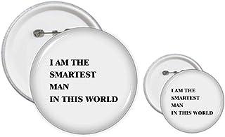 I Am The Smartest Man - Kit de création d'épingles pour badge