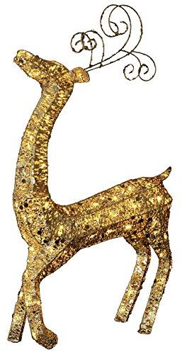 Star 803–10 Éclairage décoratif, métal, doré, 64 x 23 x 122 cm