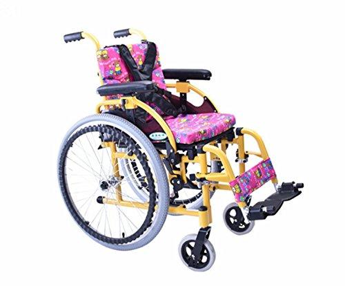 DDPP Kinder Rollstuhl Falten Tragbaren Kleinen Tragbaren Behinderten Wagen Kinder-Hand Rollstuhl