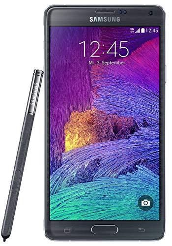 Samsung Galaxy Note 4 Smartphone (5,7 Zoll (14,5 cm) Touch-Bildschirm, 32 GB Speicher, Android 4.4) schwarz (Generalüberholt)