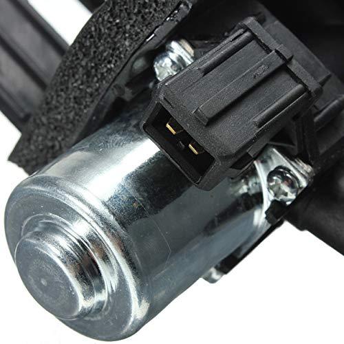 Heizungsregelventil für Ford Fiesta KA Puma Street Transit für Mazda 121 - schwarz