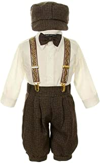Vintage Dress Suit-Tuxedo Knickers Outfit Set Baby Boys & Toddler