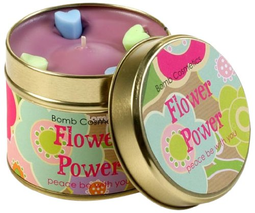 Bomb Cosmetics Duftkerze in Dose, Flower Power