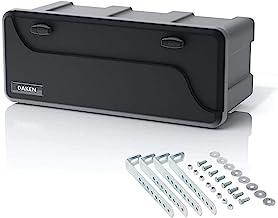 Disselbox Daken Blackit L 750x300x355mm incl. verticale houder gereedschapskist aanhanger opbergkist