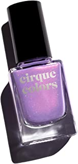 Cirque Colors Shimmer Holographic Sparkle Nail Polish - 0.37 fl. oz. (11 ml) - Vegan, Cruelty-Free, Non-Toxic Formula (Cloud Nine)