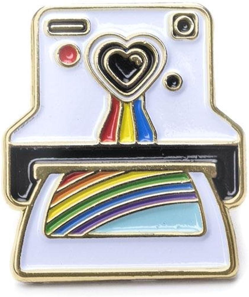 TEESANDTANKYOU Polaroid Enamel Pin