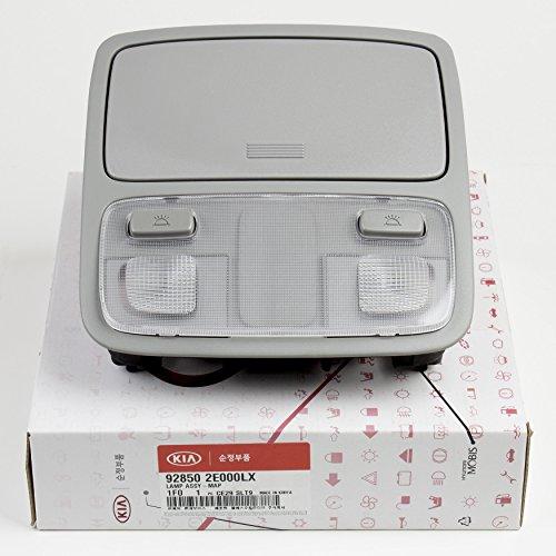 Genuine 928502E000LX Overhead Console Sunglasses Map Lamp Gray 1-pc For 2005 2010 Kia Sportage