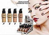 Lot 4Base de maquillaje bomba líquido pieles mediana maquillaje