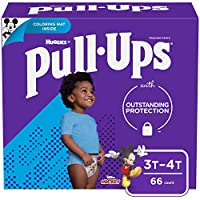 Pull-Ups Learning Designs Training Pants for Boys, 3T-4T, 66 Count by Pull-Ups