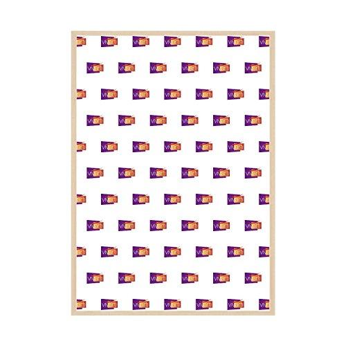 Vivarti Fino Acre Color Marco, Dimensión, 61 x 91.5 cm