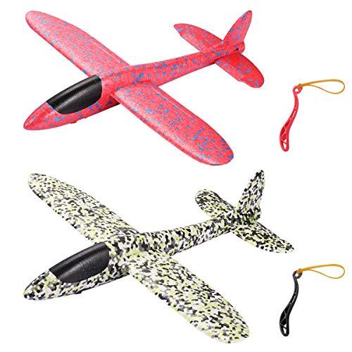 STOBOK Aerobatic Slingshot Flugzeug Segelflugzeug Leichtflugzeug Spielzeug für Kinder