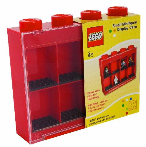 Lego - L005FRA-2 - Ameublement et Décoration - Vitrine Figurines 8 Cases - Rouge