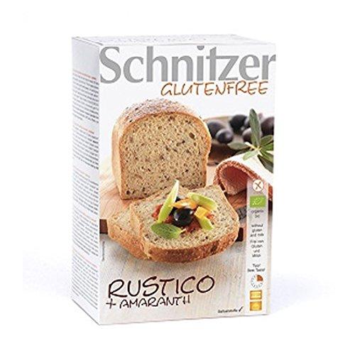 Schnitzer Gluten Free | Rustico GF Bread with Amaranth | 4 x 500g