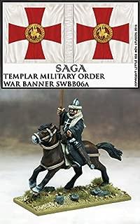 Gripping Beast SAGA: The Crescent & The Cross War Banner & Bearer (Templar)