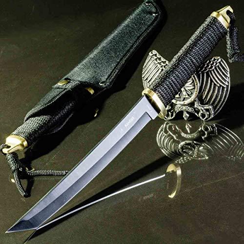 KanDar JM-K08 • FESTSTEHENDE Messer JAGDMESSER • Gesamtlänge: 347mm • FTM-de.