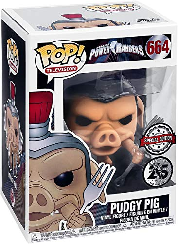 Funko Power Rangers Pop! TV Vinyl Figure Pudgy Pig GameStop Exclusive 9 cm Mini