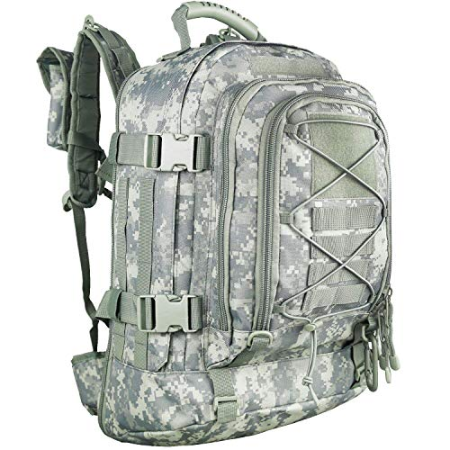 WolfWarriorX Backpack Military Backpacks Tactical 3 Day Expandable Hiking Camo