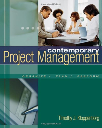 Contemporary Project Management (with Microsoft Project...