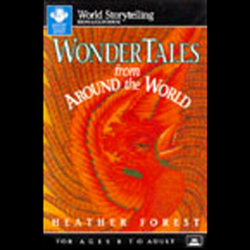 Wonder Tales from Around the World audiobook cover art