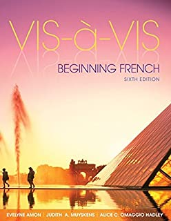 Vis-à-vis: Beginning French (Student Edition) with Connect Access Card