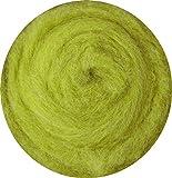 SIA COLLA-S 100% Lana para fieltrado en seco y húmedo - Verde Amarillo Oliva 25 g