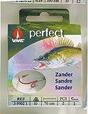 VMC Perfect Zander Ryderhaken Kevlar Zanderhaken Zwillingshaken , Hakengröße : 2