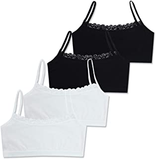 Lot Teenage Underwear For Girl Children Girls Cotton Lace Wireless Young Training Bra Girls Cotton Tops Pure Cotton Vest Sports Bra 12-16 Years Young Girl Bra color : Beige ALXY 1pcs