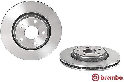 Set de 2 Brembo 09A73611 Discos de Freno con Recubrimiento UV