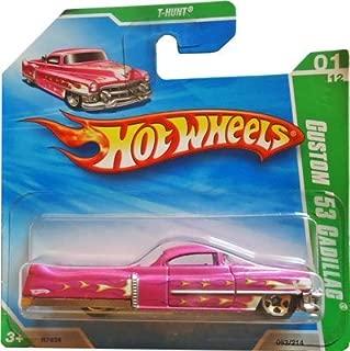 Hot Wheels 2010 T-Hunt (Pink) Custom '53 Cadillac #53/214 (Short Card)