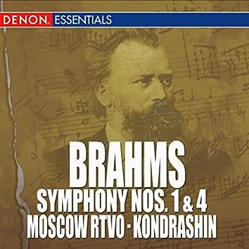 Brahms: Symphony Nos. 1 & 4