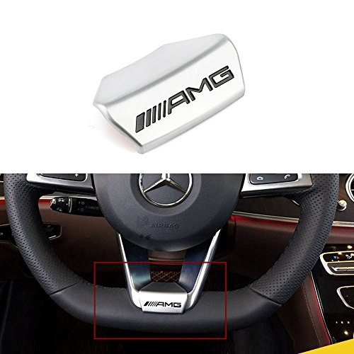 Duoles Mercedes-Benz AMG Emblem 3D ABS Black Trunk Logo Badge Decoration Gift Black