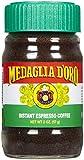 Medaglia D' Oro D'Oro Espresso, Instant, 2 oz