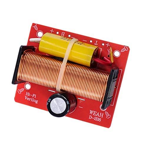 Baoblaze 100W Diviseur de Fréquence Filtre Audio De Croisement De Haut-Parleur 2 Voies