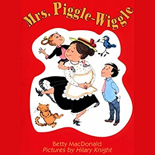 Mrs. Piggle-Wiggle audiobook cover art