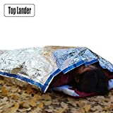 Outdoors Survl Emergency Sleeping Bag Army Porta Rescue Thermal Foil Ultra Light Camping
