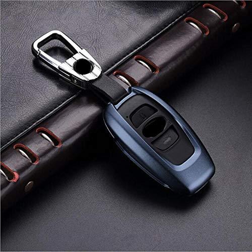 QADMJ Sleutelschaal Aluminium Auto Sleutelkoffer Shell Opbergtas Beschermer Voor Legacy Subaru XV Forester Outback Subaru BRZ Key Cover Zonder sleutel