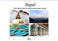 Nepal Eine Reise durch ein faszinierendes Land (Wandkalender 2022 DIN A2 quer): Eine Reise durch ein Land mit vielen Gegensaetzen. (Monatskalender, 14 Seiten )