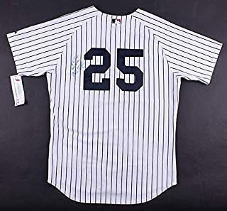 Mark Teixeira Autographed Signed Yankees Jersey Inscribed Best Wishes - JSA Certified