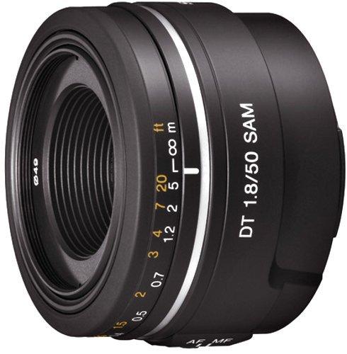 ソニー SONY 単焦点レンズ DT 50mm F1.8 SAM APS-C対応