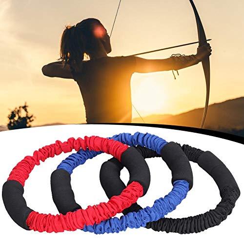 libelyef Archery Band Archery Exerciser Gummiband Elastic Rope Trainer Puller Für Archary (Bogen) Training, Latissimus Dorsi, Krafttraining - Design Für Reflexbogen Compoundbogenschießen