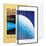 3 Pack SPARIN Tempered Glass Screen Protector Compatible with iPad Air 3 2019 10.5 inch, Compatible with Apple Pencil
