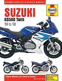 Suzuki GS500 Twin 1989-2008 (Haynes Service & Repair Manual)