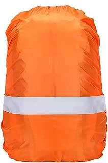 リュックカバー 防水 レインカバー 雨よけ ザックカバー 6色 5サイズ(15-90L) 反射テープ クロスバックル 落下防止 2倍防水 収納袋付 Pruvansay