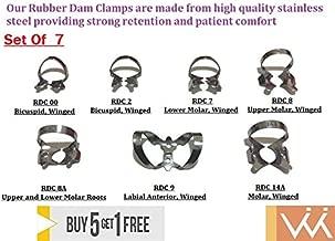 rubber dam clamps