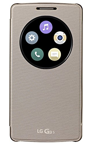 LG CCF-490G.AGEUGD G3s QuickCircle Snap Casefür Smartphone gold