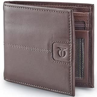 Titan Brown Mens Wallet (TW135LM1TN)