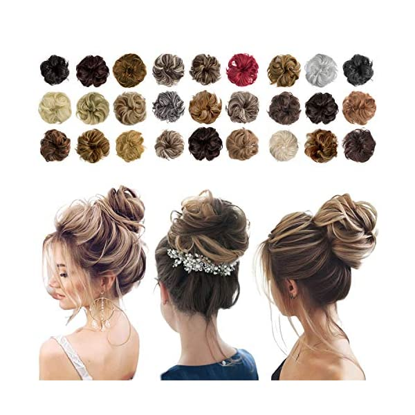Beauty Shopping Messy Bun Hair Piece Thick Updo Scrunchies Hair Extensions Ponytail